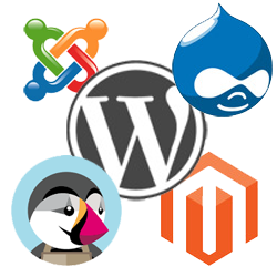 CMS Wordpress Prestashop Joomla Magento