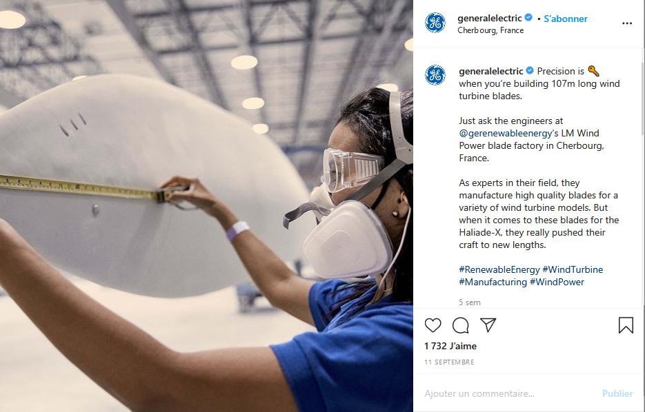Instagram General Electric