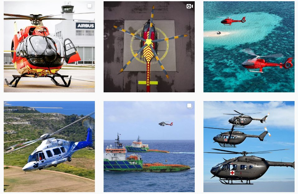 Insta Airbus Helicopteres